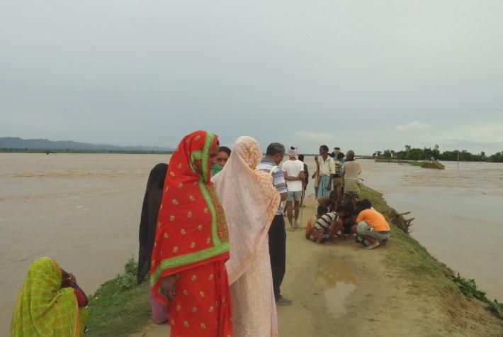 Inondation_Tepri_Village